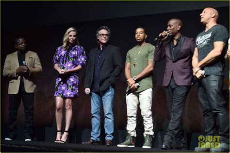 fast and furious 6 movie actors names vin diesel fate of the furious cast surprise cinemacon