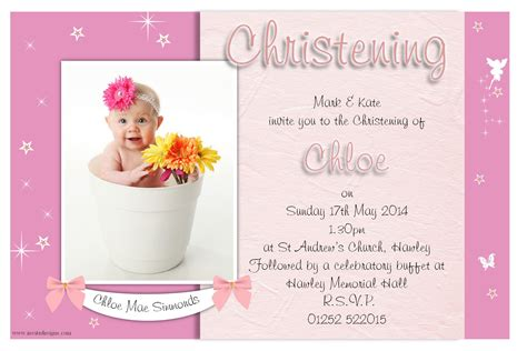Baptism Invitations by Christening Invitation Christening Invitation Template