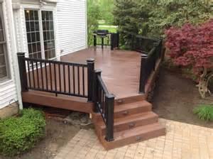 wood deck installation custom wood decks solon hudson chagrin gallery hoehnen