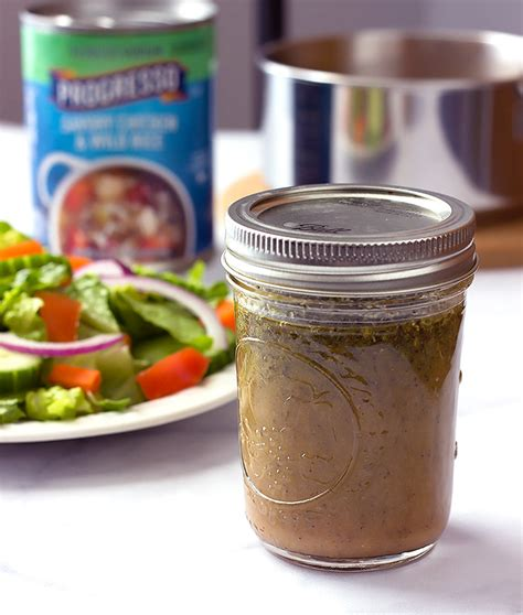 Simple Side Salad With Herbs Chagne Vinaigrette by Garlic Herb Vinaigrette Salad Dressing The Wholesome Dish
