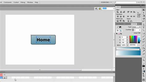 tutorial flash 8 youtube adobe flash tutorial basic button actionscript 2 3