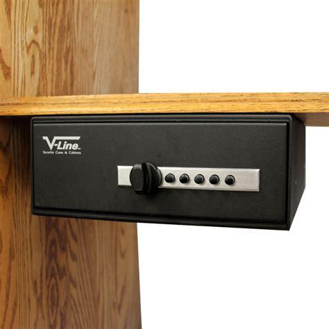 v line slide away pull out drawer safe for handguns