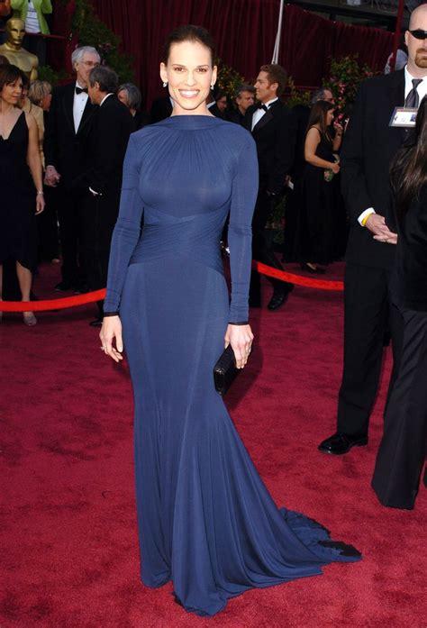 Oscars Carpet Hilary Swank by Hilary Swank Oscars Magnifique Carpet