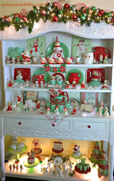 cozy christmas cottage decor jadeite collection vintage