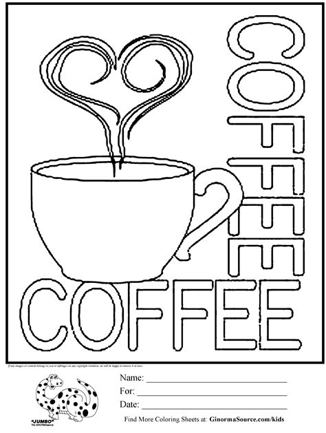 Coffee Cup Coloring Pages coffee mug free coloring pages