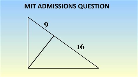 admissions problems can you solve this mit admissions question geometry