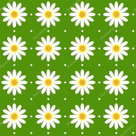 daisy background pattern vector seamless daisy pattern background texture stock vector