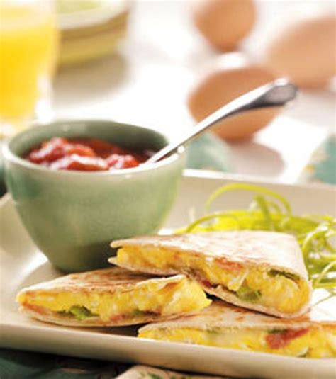 breakfast quesadilla recipe dishmaps