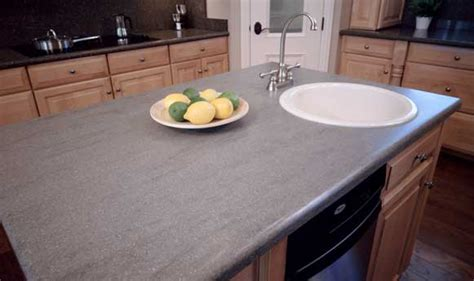 Grey Corian Countertops by A American Contractors Corian Countertops