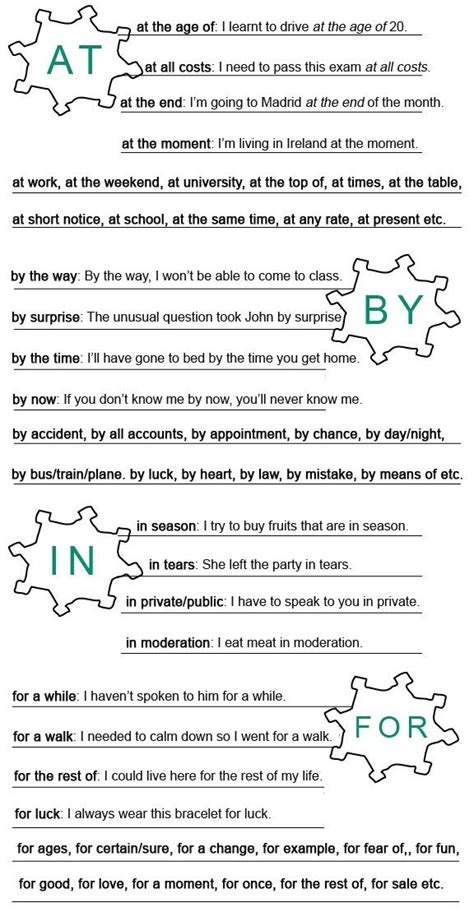 25 best ideas about prepositional phrases on