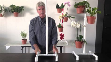 flower pot hanger plant stand assembly