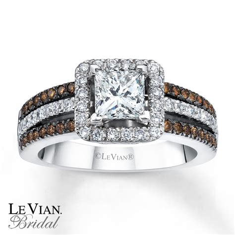 le vian bridal chocolate diamonds 14k gold