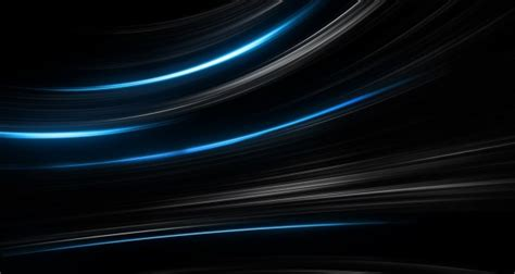 Hp Samsung S3 Active hd background black blue abstract lines light stripes curve wallpaper wallpapersbyte
