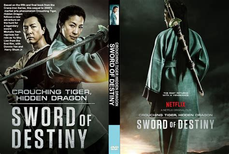 Dvd With Sword 2016 crouching tiger sword of destiny dvd cover