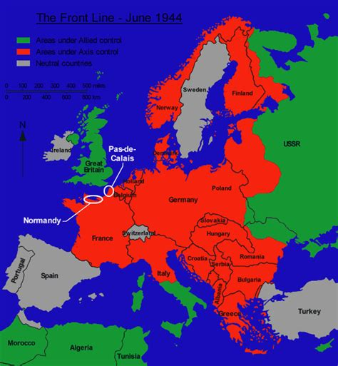 map of germany 1944 europe june 1944