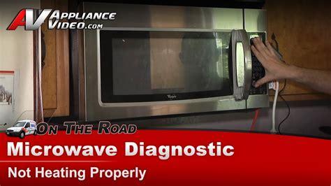 microwave diagnostic repair  heatingwhirlpoolmaytag