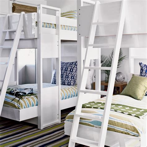 room bunk bed 20 beachy bunk rooms coastal living