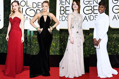 The Globe Dress golden globes 2017 carpet attire commentary brahma news
