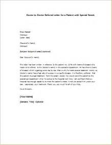 Thank You Letter Medical Doctor doctor to doctor referral letter for patient writeletter2 com