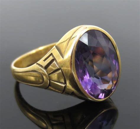 deco amethyst ring deco amethyst jewelry february birthstone deco