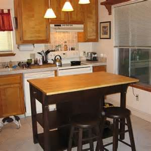 simple and small kitchen island with seating idea narrow table islands