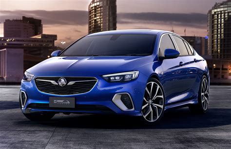 opel commodore 2018 2018 holden commodore vxr revealed as performance variant