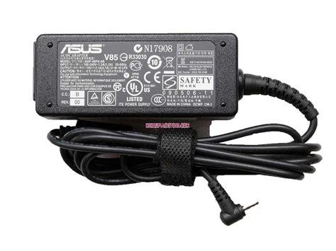 Adaptor Asus 19v 2 1a Original genuine asus eee pc1015 laptop 19v 2 1a 40w ac original