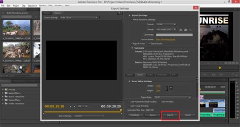 adobe premiere cs6 network rendering cara render video di adobe premiere pro cs6 dengan cepat