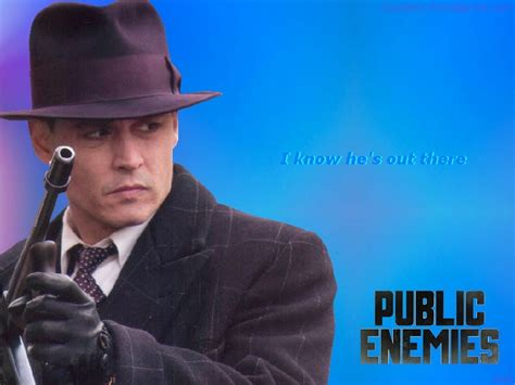 hes   public enemies wallpaper