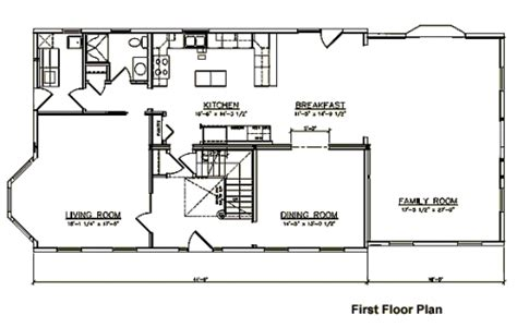 two story colonial floor plans story home plans ideas picture