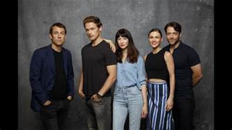 new photoshoot of the cast of outlander from la times