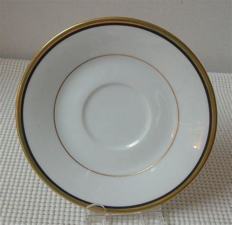 gold pattern trim noritake elysee replacement saucer bone china pattern 6914