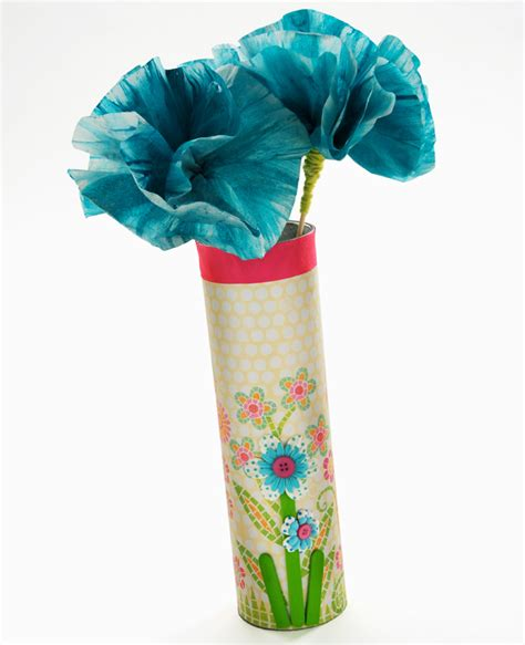 paper vase craft cathie filian craft paper flowers and a chip vase