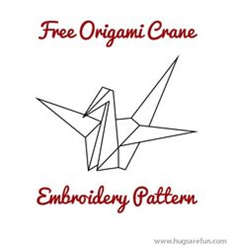 origami crane pattern 1000 images about craft cross stitch embroidery on