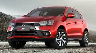 Mitsubishi Rsx Facelifted Mitsubishi Asx Asian Debut In Beijing