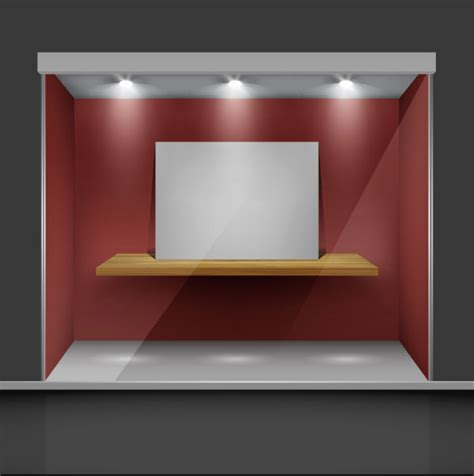 exhibition booth design vector exhibition booth window free vector 01 free download