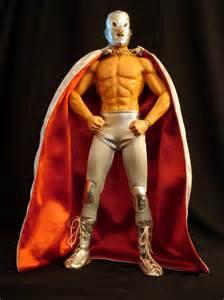 Thread my lucha libre custom figures
