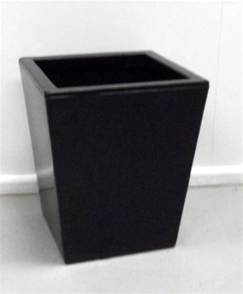 plastic tapered planter just artificial