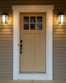 Craftsman style door that says welcome to our home craftsman