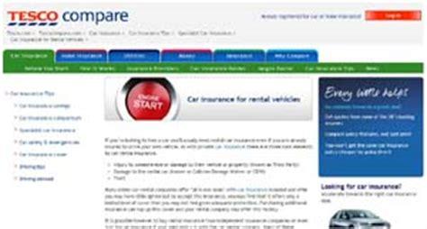 Tesco Car Insurance Ireland by Car Hire Hire Motorhome Hire Insurance Companies
