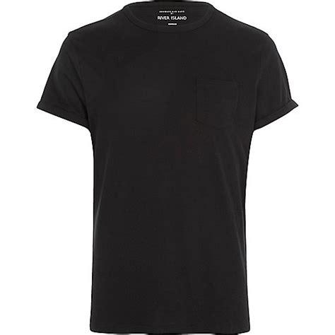 black chest pocket t shirt plain t shirts t shirts