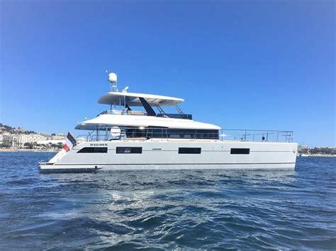 catamaran charter france charter yacht lagoon 630 oryx in france top sailing