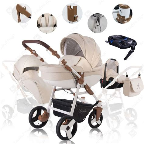 Set 4 In 1 friedrich hugo simpligo 4 in 1 kombi kinderwagen