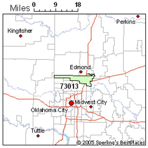 zip code map edmond ok best place to live in edmond zip 73013 oklahoma