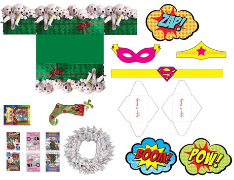 printable elf superhero november 2014 the glamorous project