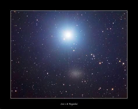 apod  january  bright star regulus   leo