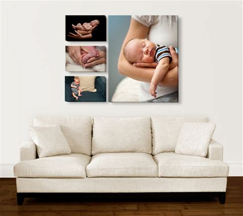 Collage 3in1 turn any image into canvas photo with canvas now canvas picture custom canvas prints