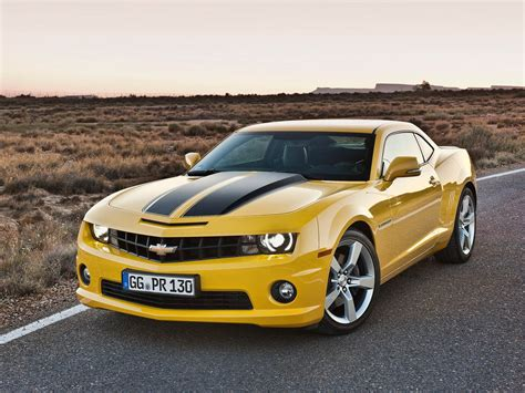 top cars zone camaro ss  yellow picture