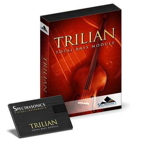Spectrasonics Trillian Bass spectrasonics trilian total bass module instrument