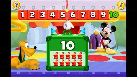 la casa di topolino italiano imparare i numeri con la casa di topolino disney italiano